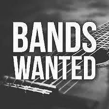 When the Corona virus is over, Bands will be wanted